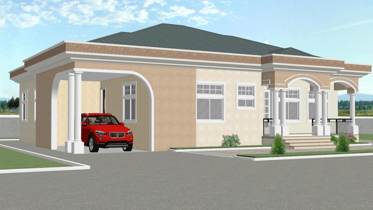 Plan De Maison Moderne accueil - africplans. plans de maison adapté à l'afrique.