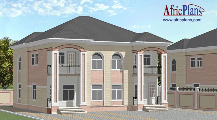 Appartements House Plans For Africa Africplans Plans De Maison Pour L Afrique